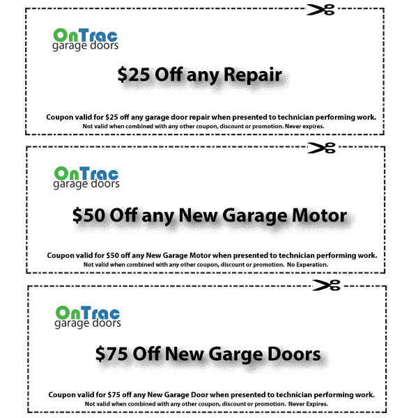 Colfax Garage Door Service Coupon
